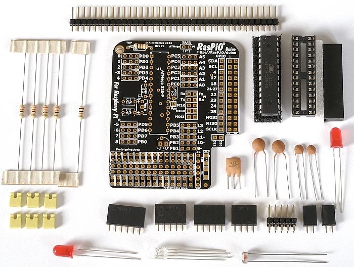 Step 2: solder 10k resistor R1