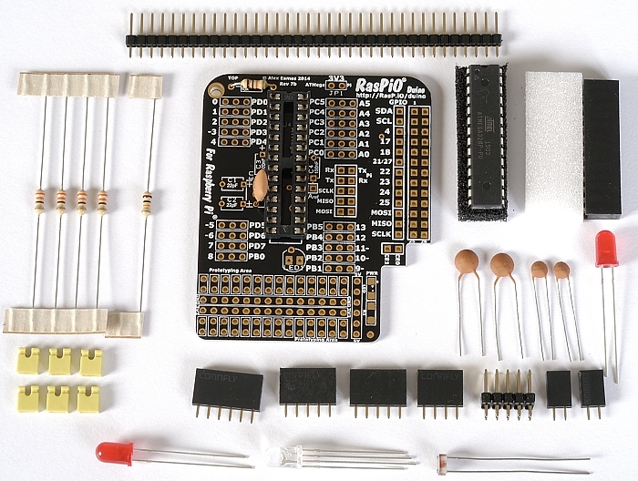 Step 4: solder ceramic resonator