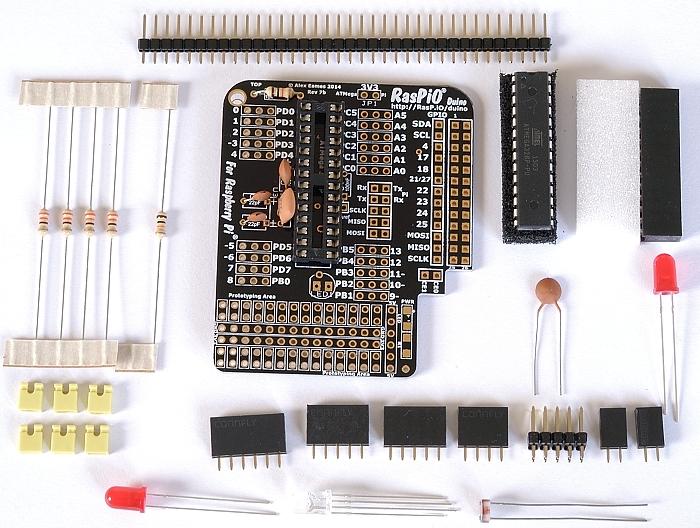 Step 6: solder 22 pF capacitors C1 & C2