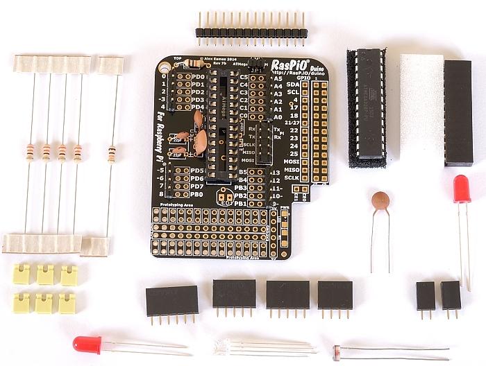 Step 7: solder male headers
