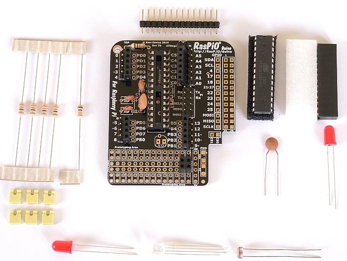 Step 8: solder female headers