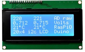 ADC, Voltage and Temperature readouts