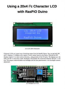 RasPiO LCD20