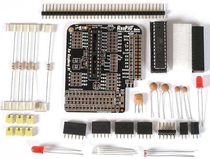 Step 3: solder chip socket