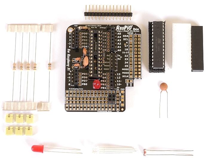 Step 9: solder LED