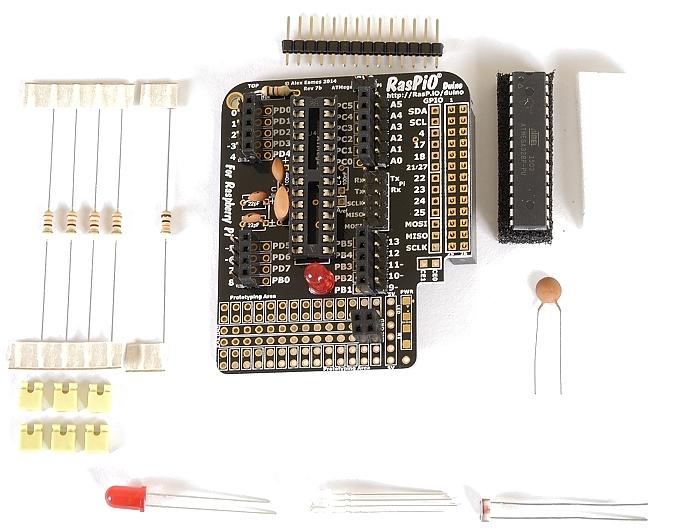 Step 10: solder 26-way Pi header